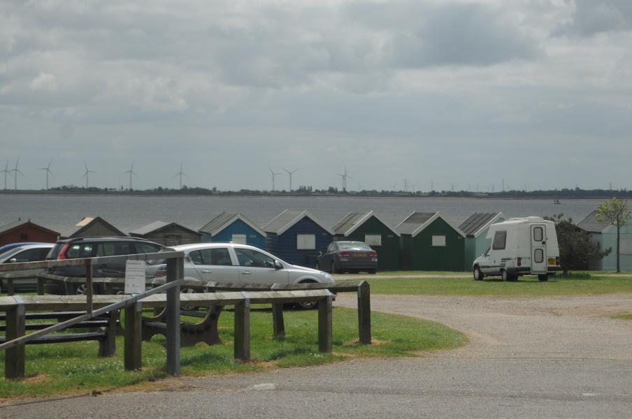 Parcare la West Mersea Island